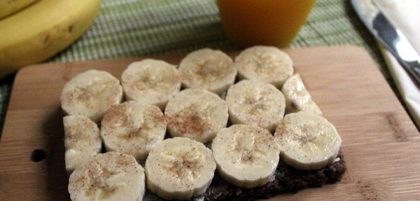 Bananenbrot zum Frühstück