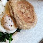 Egg Florentine mit pochiertem Ei