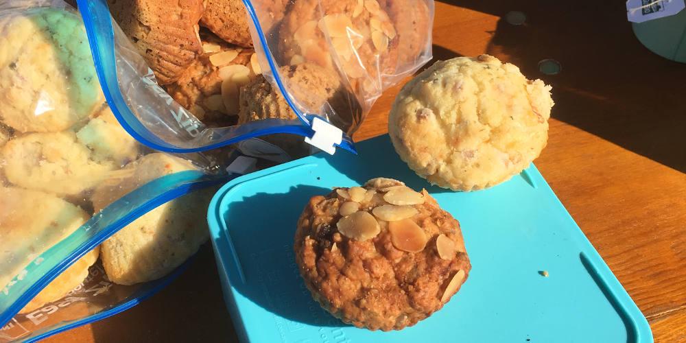 Festival Muffins zum Frühstück