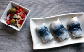 katerfrühstück mit Rollmops