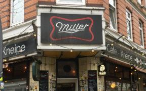 Eingang Cafe Miller