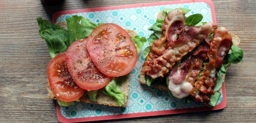 BTL Sandwich aufgeklappt