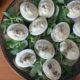 Gefüllte Eier für das Buffet