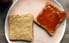 PBJ Peanutbutter Jelly Sandwich