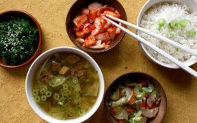 Ein koreanisches frühstück